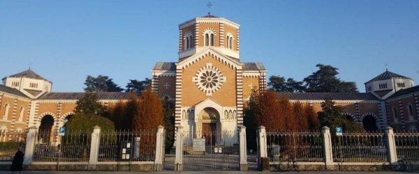 Cimitero Maggiore ingresso facciata 600x