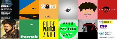 """Iniziativa """"Free Patrick Zaki, prisoner of conscience"""" 380 ant"""