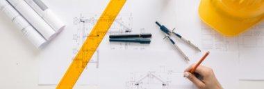 Edilizia progetto casa disegno cantiere 380 ant fotolia 126738742