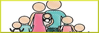 Famiglia famiglie numerose numerosa nucleo famigliare familiare 380 ant fotolia 84472823