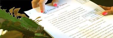 Certificati urbanistici e definizione documento atto contratto foglio area 380 ant